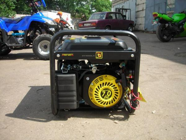 Бензиновый генератор huter dy4000lx huter