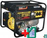 Бензи генератор Huter DY6500L